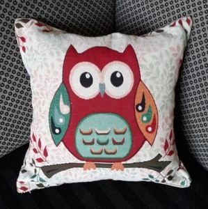 Owl  family reunions collection pillow cover